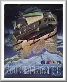 "242 ASHC / B Company - ""Sugar Bears North"" D model fielding poster."