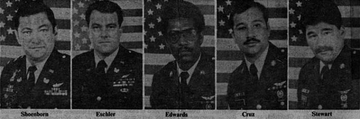 The last air crew of 74-22292.
