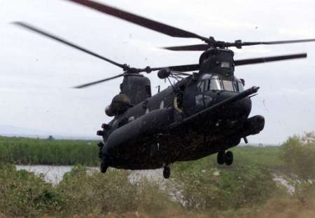 Search operations have been launched for a missing U.S Army MH-47E.