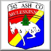 """Muleskinners"" patch from the days of Vietnam."