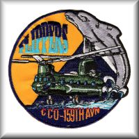 Flippers unit patch, circa 2000.