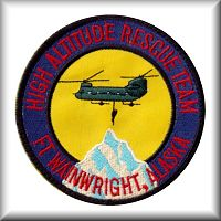 "B Company - ""Sugar Bears North"" High Altitude Rescue Team (HART) patch."