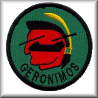 B Company, 6th Battalion, 158th Aviation Regiment unit patch, circa 1989.