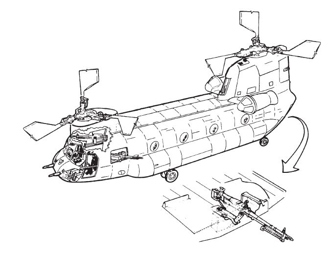 Chinook Helicopter Diagram
