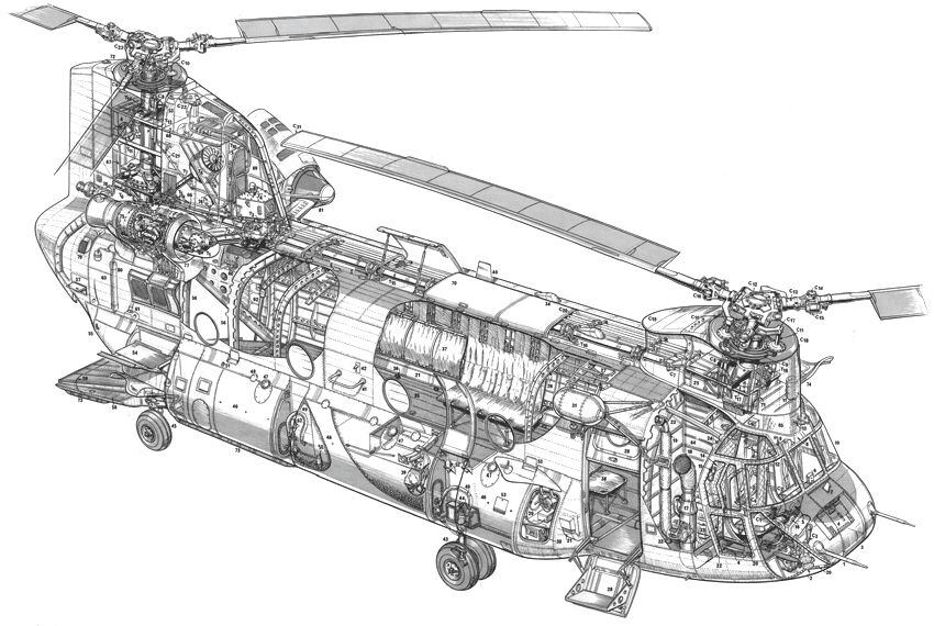 HCII_Chinook_helicopter_Cutaway_drawing.